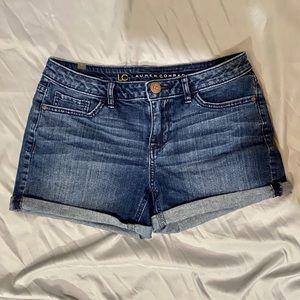 LC Lauren Conrad Denim Shorts, Sz 6